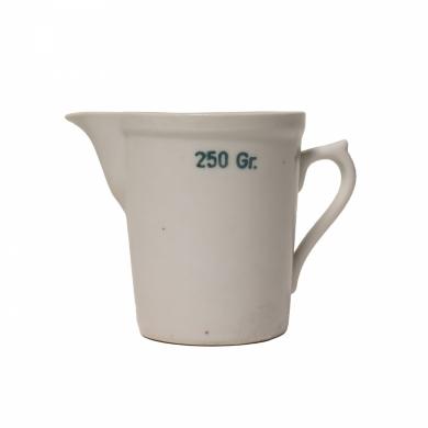 Odmìrka porcelánová lékárénská 250 ml