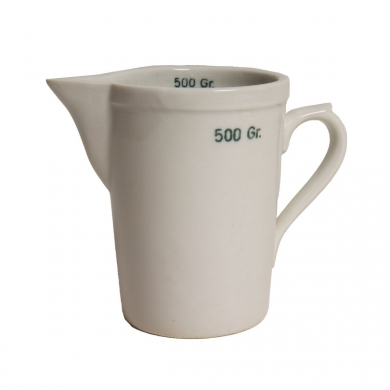 Odmìrka porcelánová lékárénská 500 ml