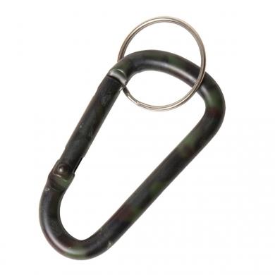 Karabina s kroužkem na klíèe WOODLAND