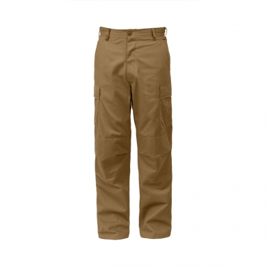 Kalhoty BDU RELAXED ZIPPER FLY COYOTE BROWN