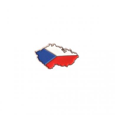 Odznak mapa a vlajka ÈR