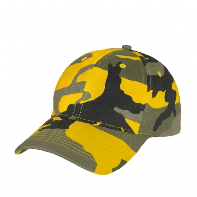 Èepice BASEBALL Supreme Low Stinger Yellow Camo