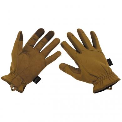 Rukavice prstové lehké COYOTE