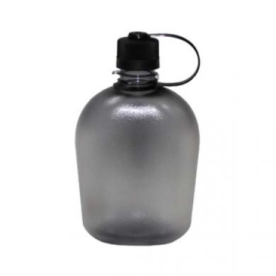 Láhev US plastová transparentní GEN II 1L ÈERNÁ