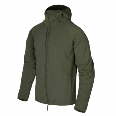 Bunda URBAN HYBRID softshell TAIGA GREEN
