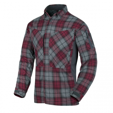 Košile MBDU flanel RUBY PLAID