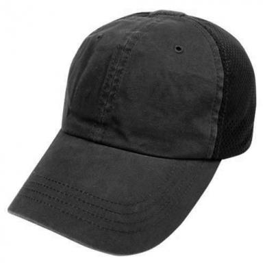 Èepice TEAM CAP MESH baseballová ÈERNÁ