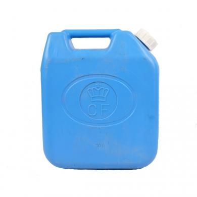 Kanystr holandský na petrolej MODRÝ 10L plastový použitý