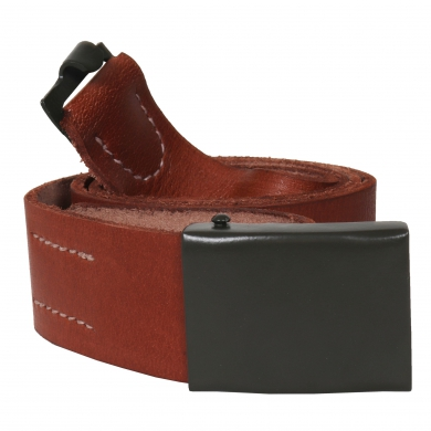 Opasek ÈSLA 45mm kožený svìtlý