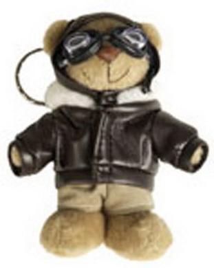 Klíèenka TEDDY PILOT