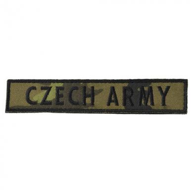 Nášivka CZECH ARMY - vz.95 les CZ VELCRO