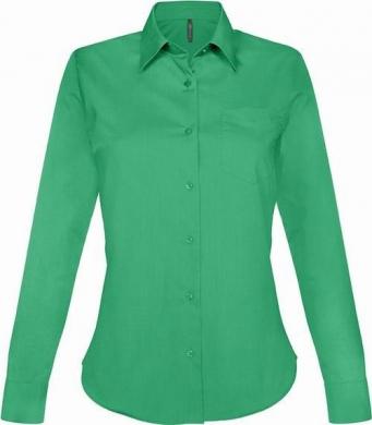 Dámská košile dlouhý rukáv JESSICA - Zelená