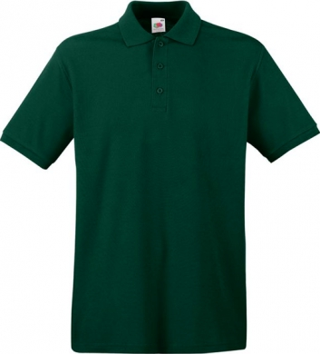 Pánská polokošile Premium Polo - Zelená