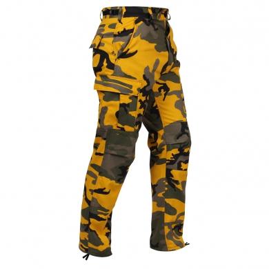 Kalhoty BDU YELLOW CAMO