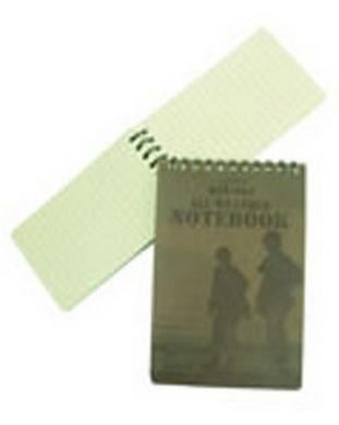 Blok / zápisník MALÝ vodìodolný