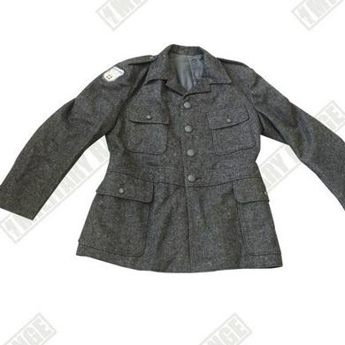 Kabát ŠVÉDSKÝ tuch modrozelený typ dánsko