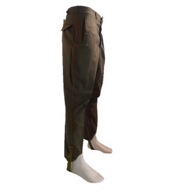 Kalhoty k uniformì s lampasem RUSKÉ orig (pas 80cm)