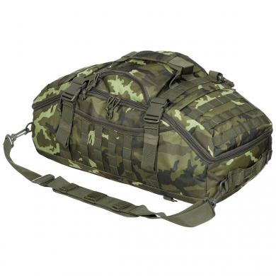 Taška kombinovaná s batohem TRAVEL MOLLE vz.95 les