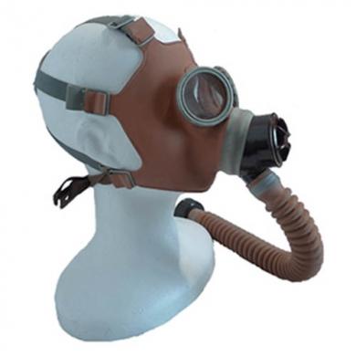 Maska plynová dìtská s chobotem civilní typ ORANŽOVÁ