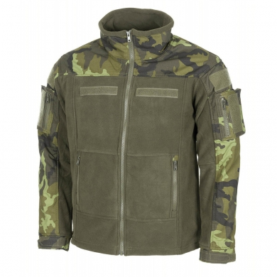 Bunda taktická fleece COMBAT AÈR vz.95 Les