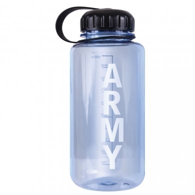 Láhev ARMY objem 1Q PRÙHLEDNÁ
