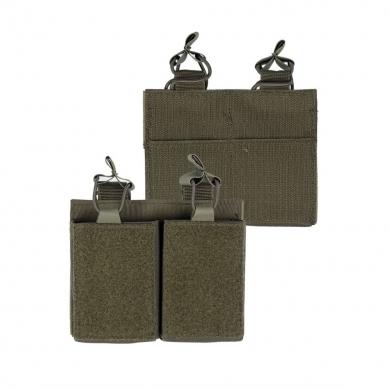 Sumka na zásobník dvojitá M4/M16/AR15 ZELENÁ
