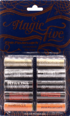 Pyro svìtlice MagicFive