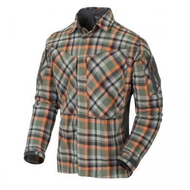 Košile MBDU flanel TIMBER OLIVE PLAID