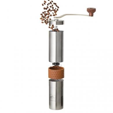 Mlýnek ruèní CAMP na zrnkovou kávu NEREZ OCEL