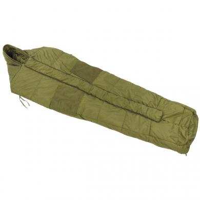 Spacák britský ARCTIC typu mumie ZELENÝ použitý