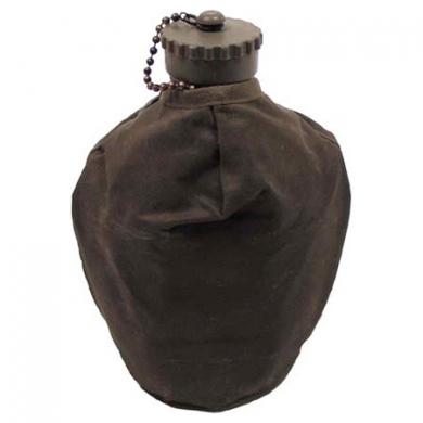 Láhev polní AL RAKOUSKÁ s obalem použitá