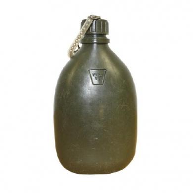 Láhev polní ŠVÉDSKÁ plastová použitá