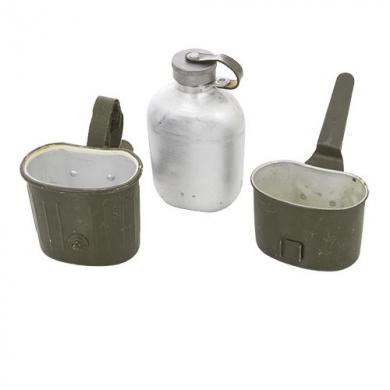Láhev polní BW 3 dílná ZELENÁ použitá