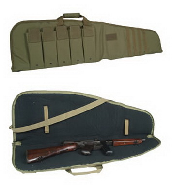 Pouzdro na pušku MODULAR s popruhem OLIV 120cm