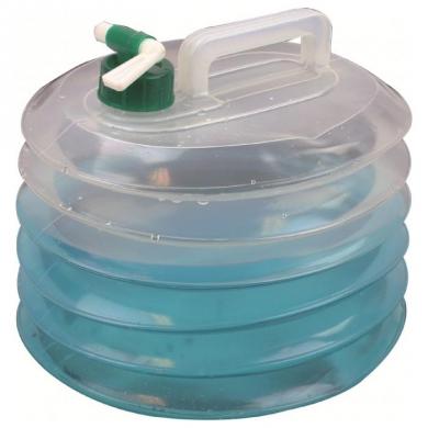 Kanystr na vodu kulatý skládací 15 litrù