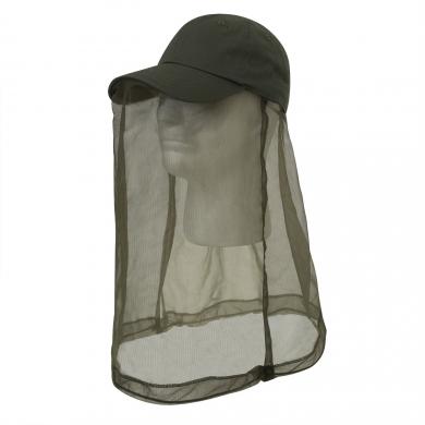Èepice BASEBALL OPERATOR s moskytiérou ZELENÁ