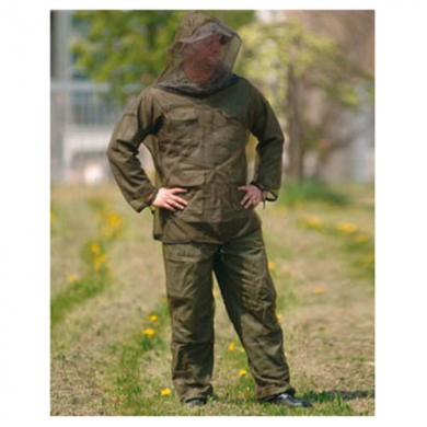 Oblek MOSKITO proti hmyzu ZELENÝ