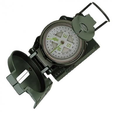 Kompas TACTICAL MARCHING kovové tìlo ZELENÝ