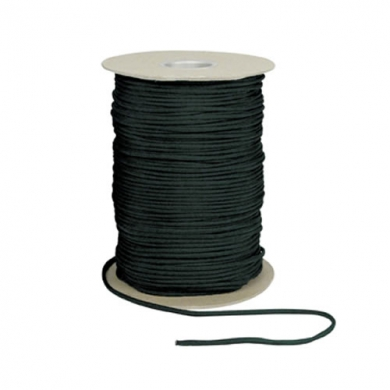 Šòùra PARACORD nylon 550LB na cívce 300m 4mm ÈERNÁ