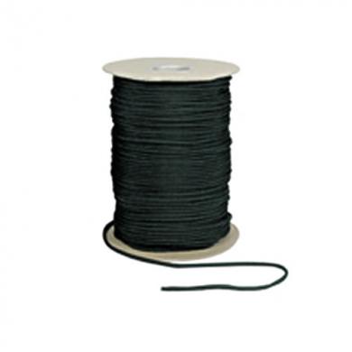 Šòùra PARACORD nylon 550LB na cívce 180m 4mm ÈERNÁ