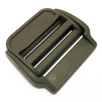 Spona/pøezka na batoh plastová prùvleèná 45 mm ZELENÁ