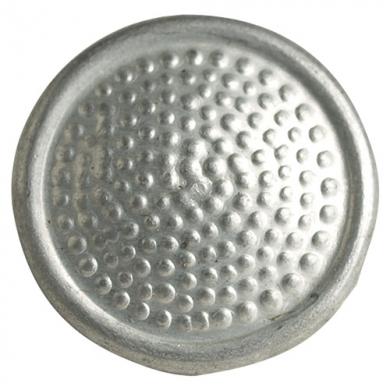 Knoflík NVA NÁRAMENÍKOVÝ ALU støíbrný 16 mm