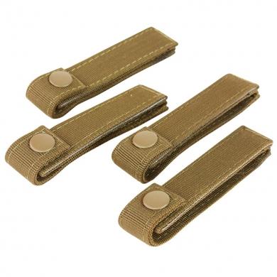 Poutka pro upevnìní výstroje MODULAR 10cm/4ks COYOTE