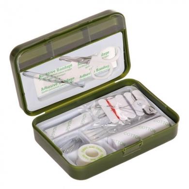 Lékárnièka první pomoci s vybavením ZELENÁ
