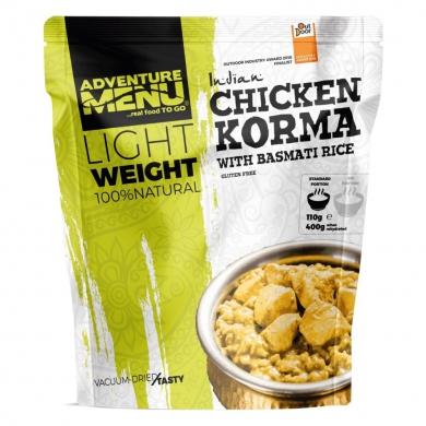 Kuøe KORMA s rýží basmati - vakuované dehydrované hotové jídlo