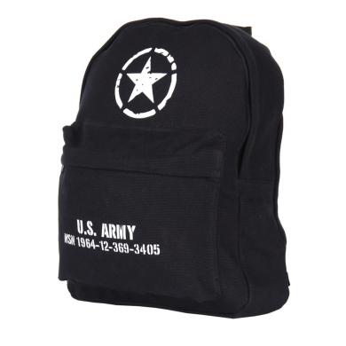 Batoh dìtský U.S. ARMY plátìný ÈERNÝ