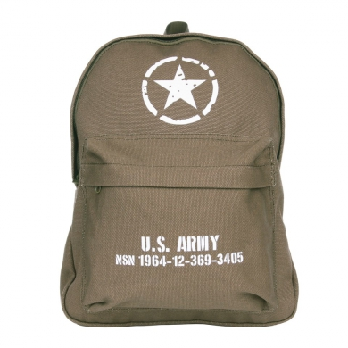 Batoh dìtský U.S. ARMY plátìný ZELENÝ