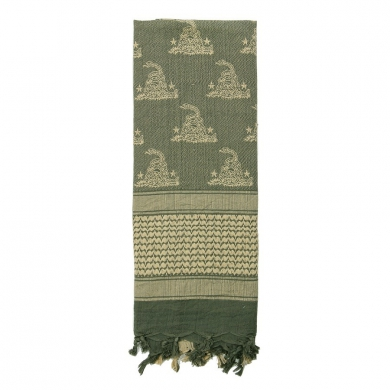 Šátek SHEMAGH 107 x 107 cm GADSDEN SNAKE FOLIAGE