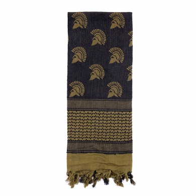 Šátek SHEMAGH 107 x 107 cm SPARTAN ZELENÝ