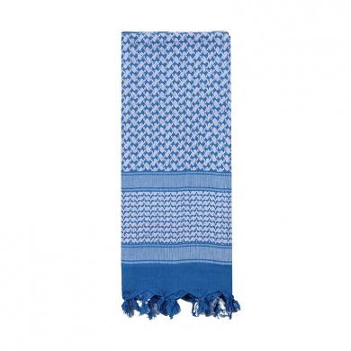 Šátek SHEMAGH 105 x 105 cm MODRO-BÍLÝ